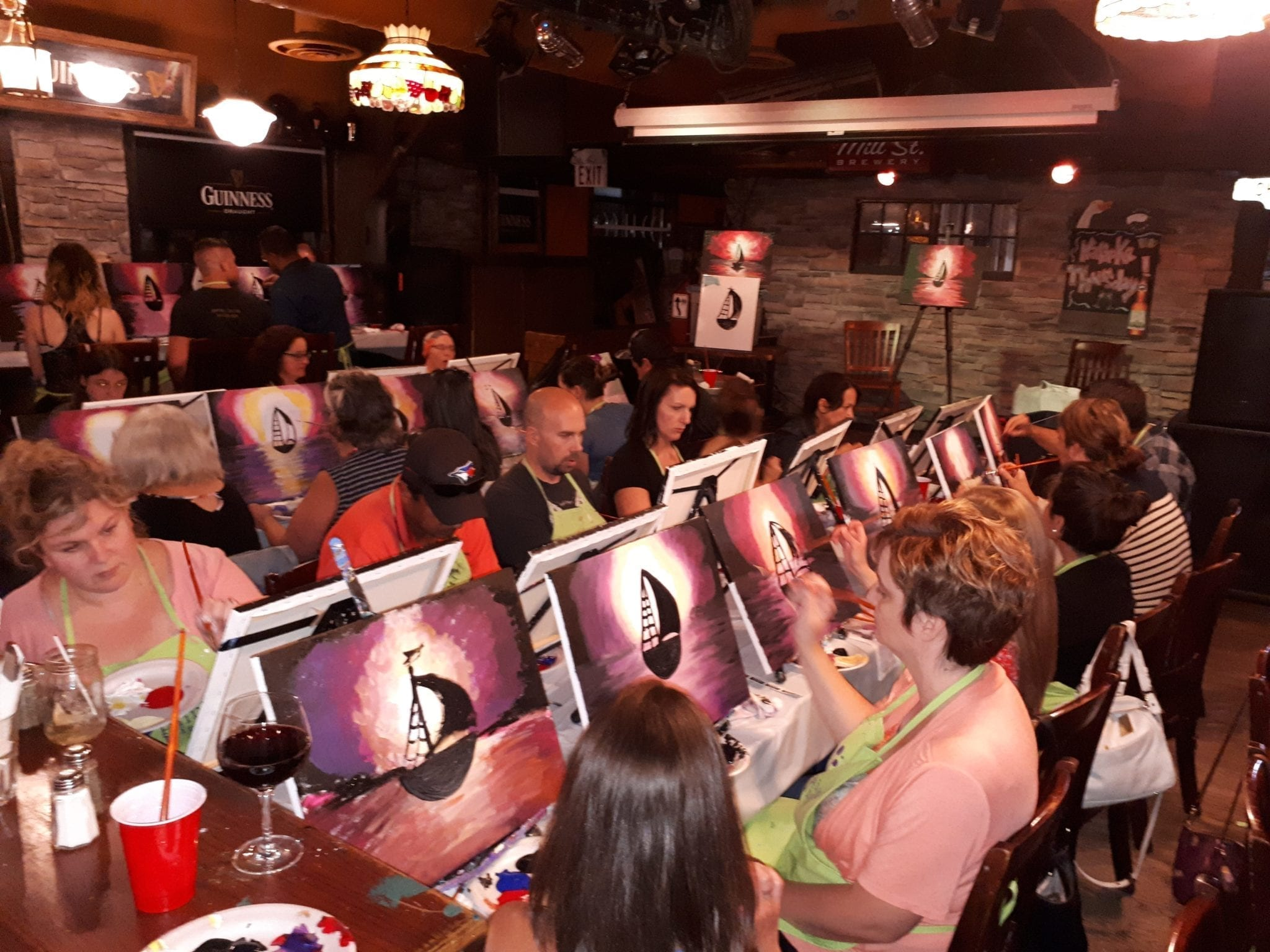 Paint Nite was a HIT!